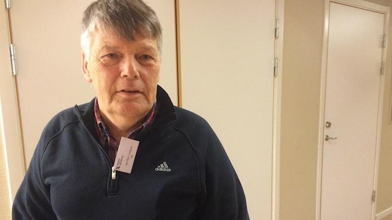 Jan-Åke Lindgren (S) ordförande socialnämnden i Ovanåkers kommun. Foto: Agneta Sundberg/Sveriges Radio
