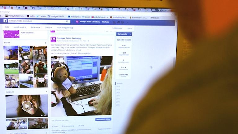Över 1 miljard använder nu Facebook. Foto: Emma Åhlström/Sveriges Radio