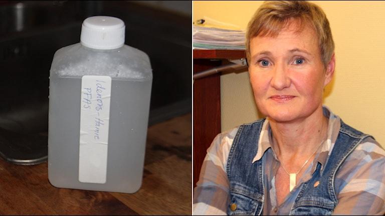 Margareta Eiserman, miljöchef i Hudiksvalls kommun, tycker att man tagit de prover som var befogat i Hamre. Foto: Linnea Johansson/SR.