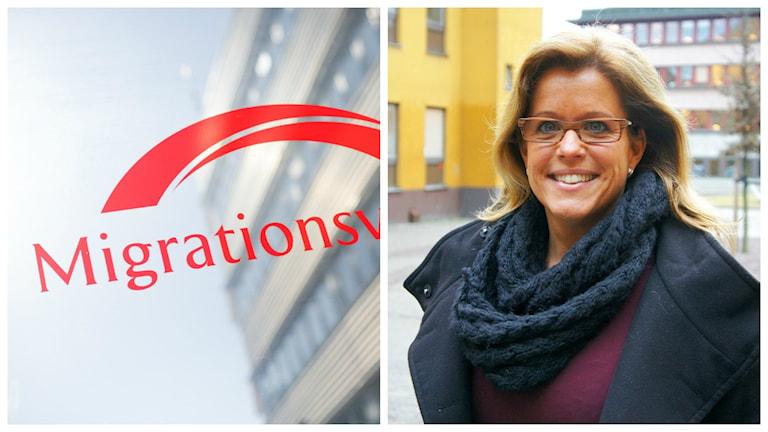 Migrationsverket och Åsa Wiklund Lång (S) gästar Eftermiddagen. Foto: Migrationsverket/Sveriges Radio