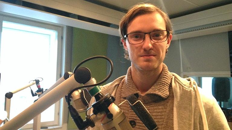 Pontus Högman. Foto: Sveriges Radio