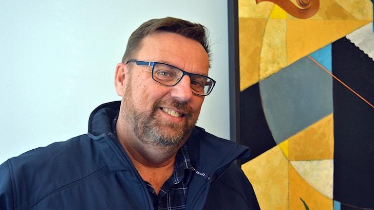 Allmännyttan bygger för dyrt tycker Lasse Wennman. Foto: Tomas Groop/ Sveriges Radio