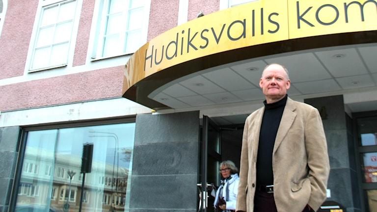 Bengt Friberg, kommunchef Hudiksvalls kommun. Foto: Emma Åhlström/Sveriges Radio