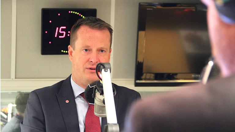 Inrikesminister Anders Ygeman (S). Foto: Emma Åhlström/Sveriges Radio