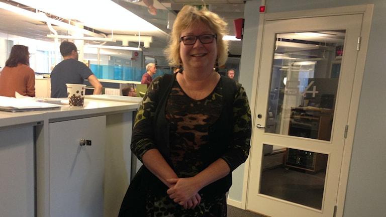 Anna Mähler, konsumentvägledare på Konsument Gävleborg. Foto: Wenda Hajo / P4 Gävleborg