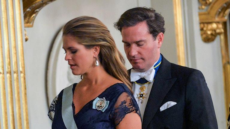 Prinsessan Madeleine och Chris O'Neill. Foto: Jonas Ekströmer / TT