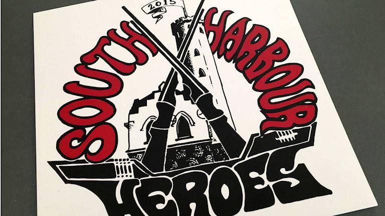 Tio Söderhamnsband är med på vinylplattan South Harbour Heroes vars intäkter går till cancerfonden. Foto: Christian Höijer/Sveriges Radio
