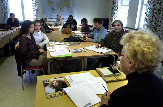 Svenska som 2:a språk är ett framtidsyrke. Foto (arkivbild): Claus Gertsen /TT Bildbyrån