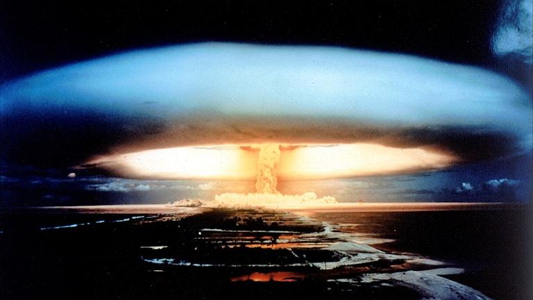 Vätebombsexplosion