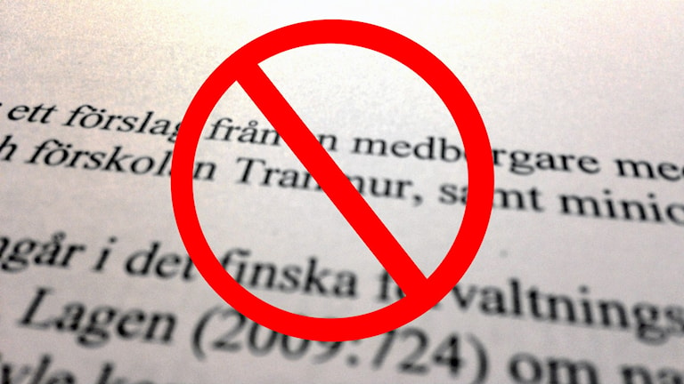 Medborgarförslagen ratas. Foto: Emma Åhlström/Sveriges Radio
