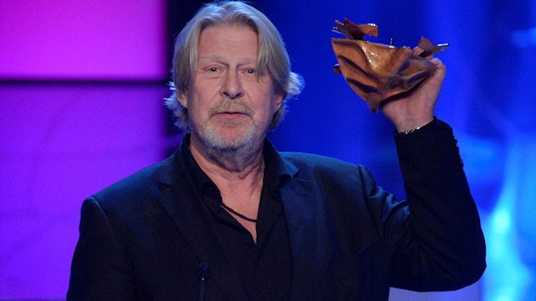 Rolf Lassgård tilldelas guldbagge för Bästa manliga huvudroll vid Guldbaggegalan på Cirkus i Stockholm.
