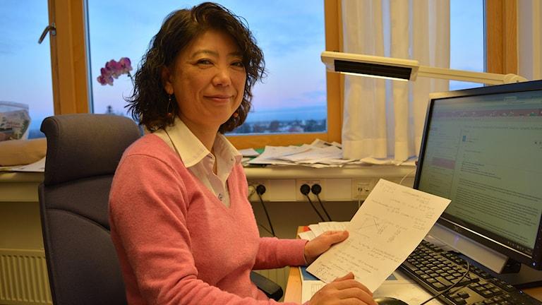 Japansk pedagogik har fördelar, menar forskaren Yukiko Asami-Johansson i Gävle. Foto: Tomas Groop/ Sveriges Radio