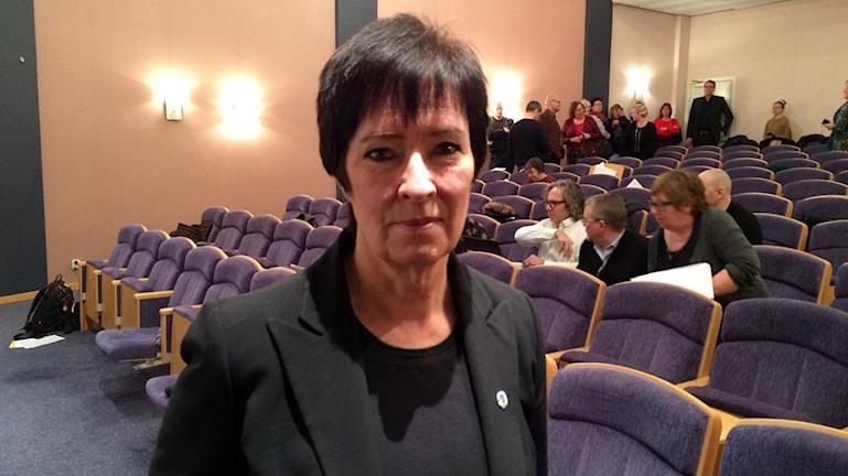 Mona Sahlin, nationell samordnare mot våldsbejakande extremism. Foto: Anna Molin / Sveriges Radio