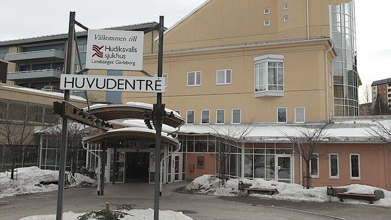 Hudiksvalls sjukhus.