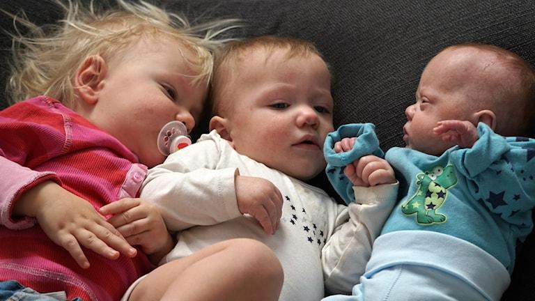 Yaslin, Naomi och Kian. Foto: Privat