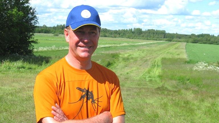 Myggforskare Jan Lundström.