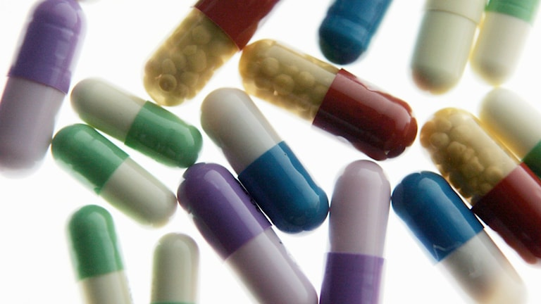 Läkemedel, tabletter.