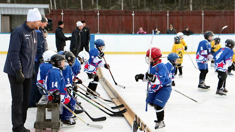 Ungdomsverksamheten har tagit fart igen i för Ockelbo Hockey Club.