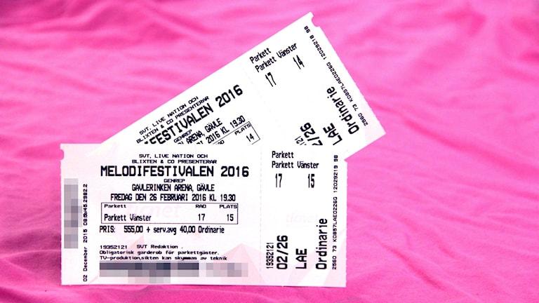 Vinn biljetter till Melodifestivalen i Gävle.
