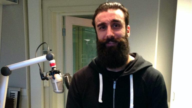 Kasim Acar har Gästriklands snyggaste skägg.