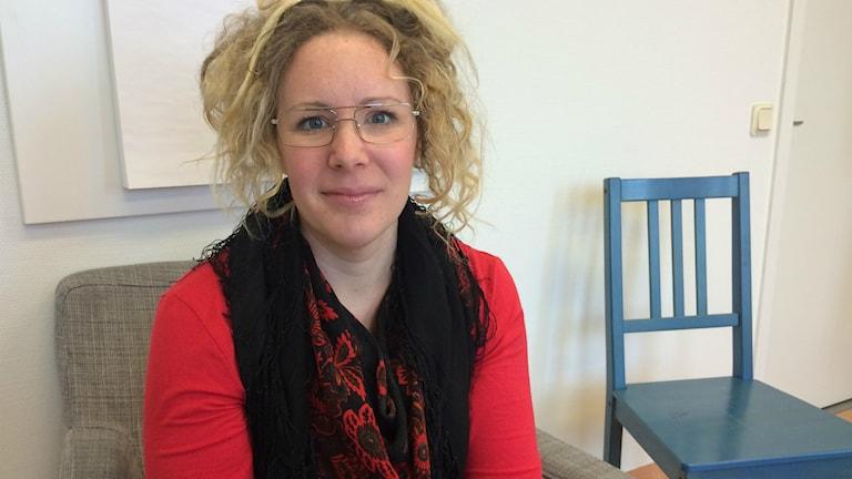Elin Hellsén Passla, kvinnofridssamordnare i Bollnäs.