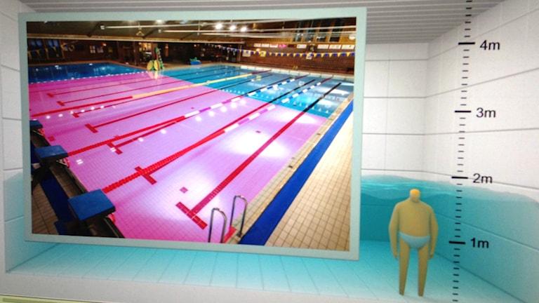 Aquarena har skapat en informationsfilm för att hålla ordning i simhallen
