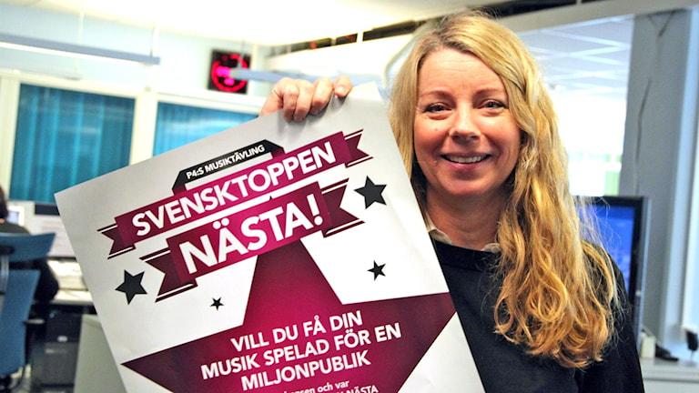 Kerstin Carlsson kanalchef, P4 Gävleborg.