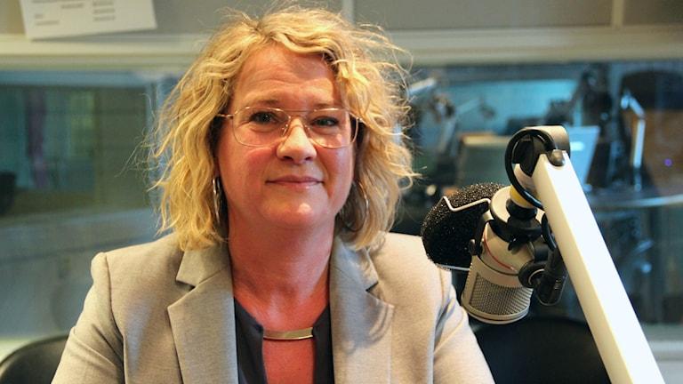 Helena Nyman, chefredaktör Arbetarbladet.