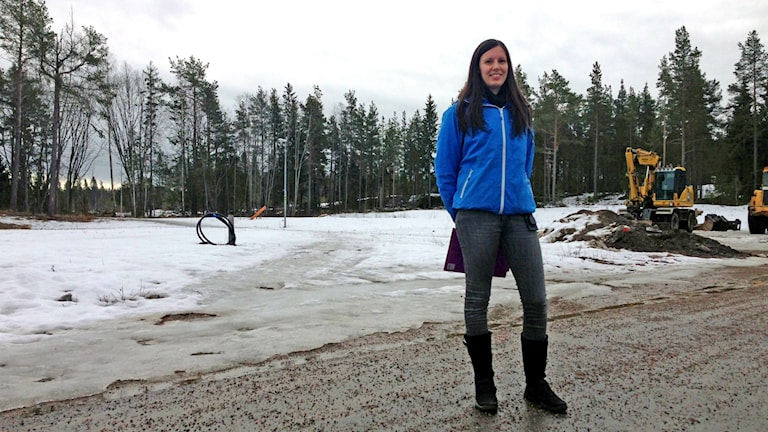 Hanne-Marie Belin är exploateringsingenjör och ansvarig för tomtkön i Gävle kommun.