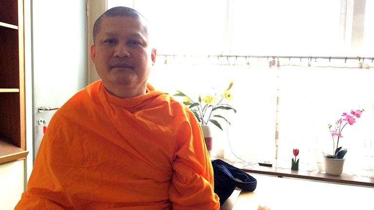 Longpi Wira från den buddhistiska föreningen Dhamakaya.