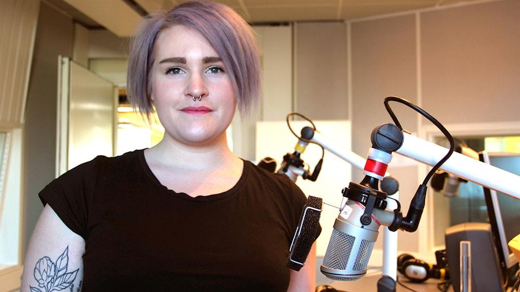 Emelie Åkerblom från Iggesund förlorade sin man i cancer.