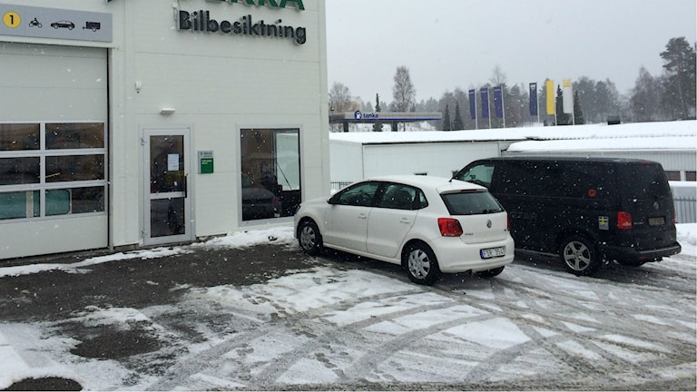 Dekra en av två besiktningsstationer i Hudiksvall.