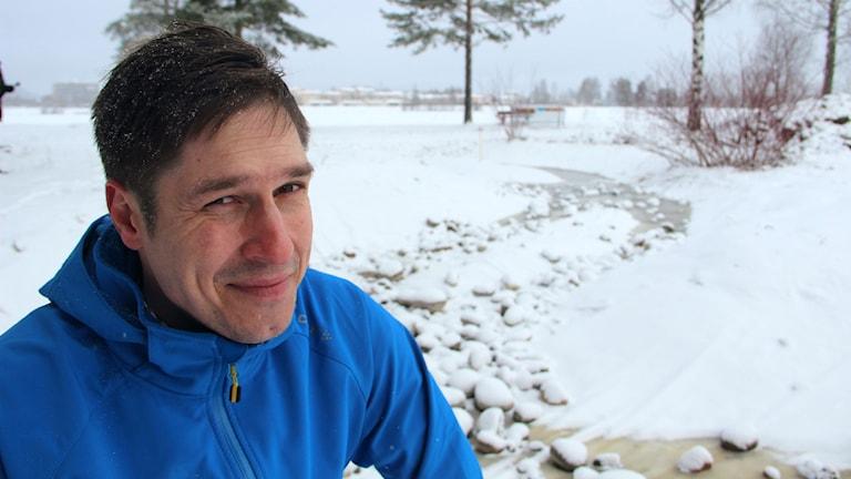 Jonas Engberg fiskevårdare