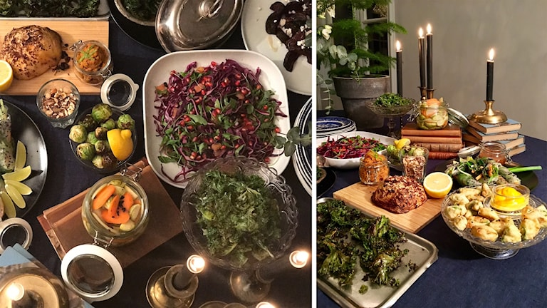 Vegetariskt julbord