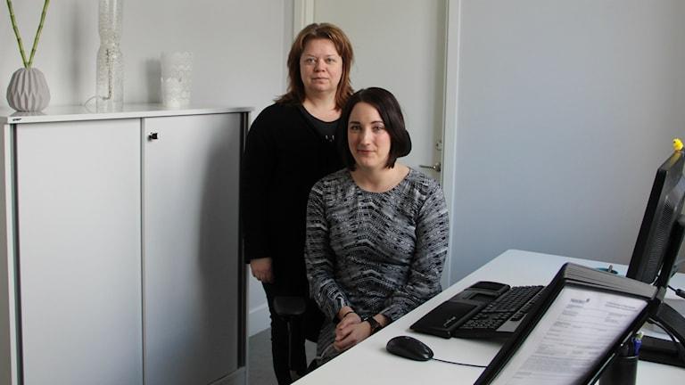Det känns som vårat år tycker Annette Lindgren och Linn Svensson, socionomer i Bollnäs.