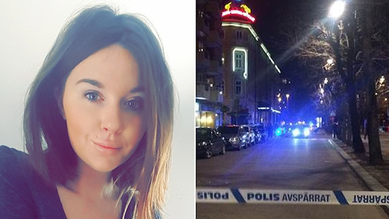 Sanna Englund, vittne till det misstänkta mordförsöket vid CH i centrala Gävle.
