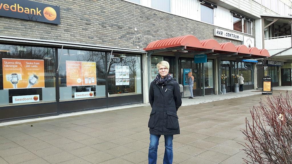 Mimmi Ekström, företagsrådgivare i Ockelbo kommun.