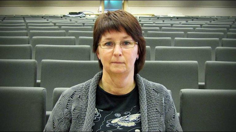 Gun Hedlund, Kultur- och kompetensdirektör, Region Gävleborg.