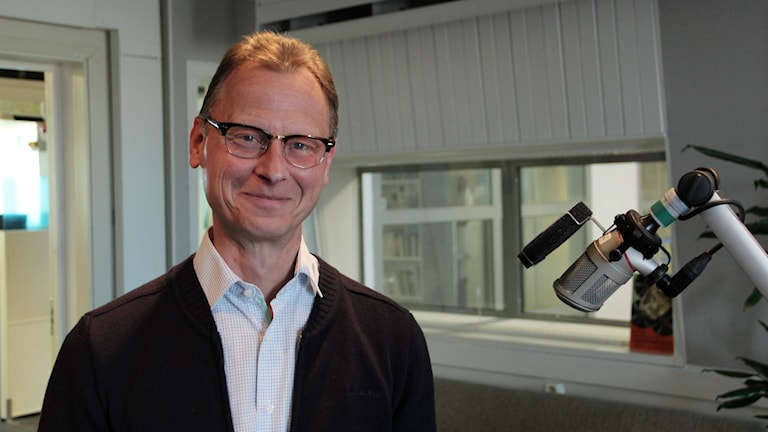 Thomas Lundberg i studion