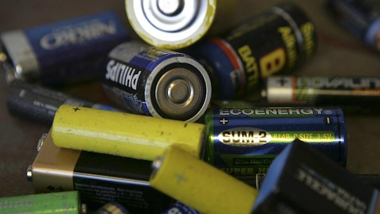 Tillsammans samlade länets skolor in 7,7 ton batterier.