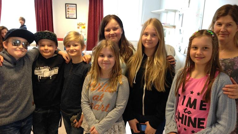 Enånger Skola Batterijakten Elever Klass 4E