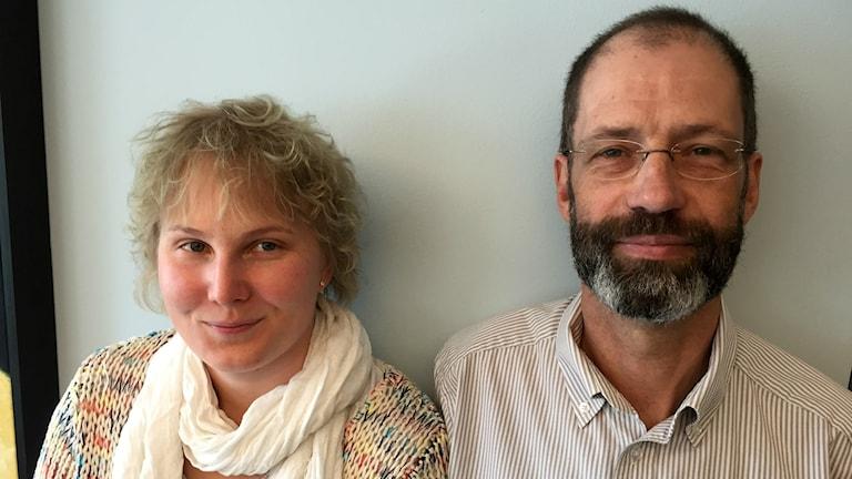 Rebeca och Arvid Carlander.