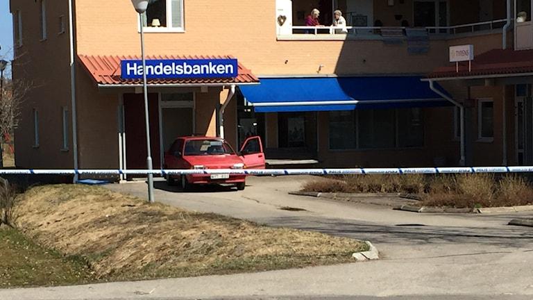 Handelsbanken i Järvsö rånades i morse