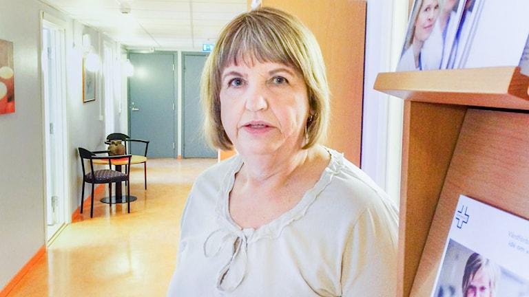 Lilian Hultin på Vårdförbundet Gävleborg.