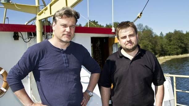 Peter Lindberg och kollegan Dennis Åsberg.