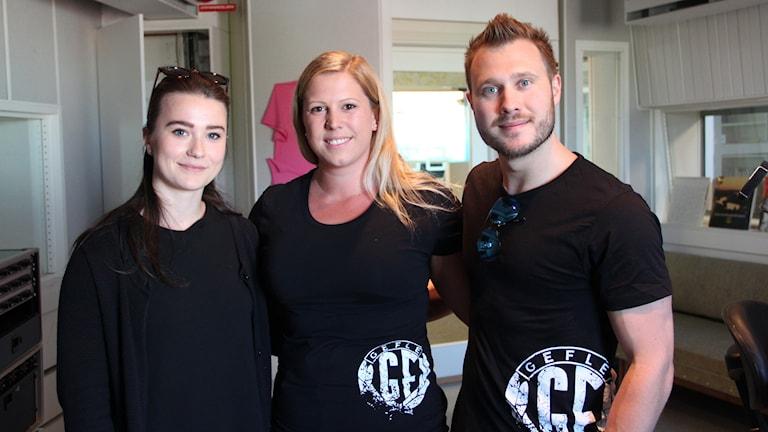 Amanda Engström, Anneli Branteryd, Ted Branteryd tävlar alla i helgen.