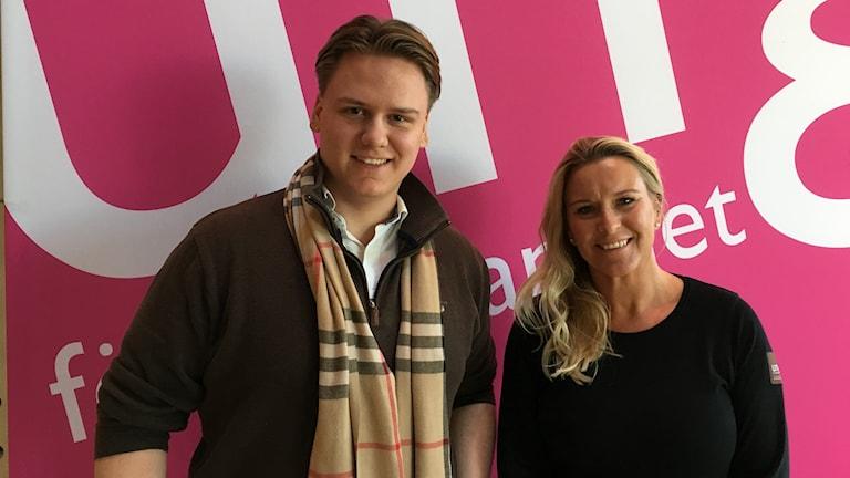 Adrian Skoglund och Anna Leima, Ung företagsamhet.