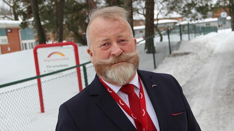 Ulf Henriksson är sektionschef på Migrationsverkets förvar i Gävle.