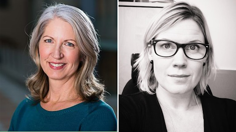 Anna Fagerström är ansvarig utgivare för Ekonomi- och Finansnyheterna, EFN, och Cecilia Adolfssons blir EFN:s ansikte i Gävle.