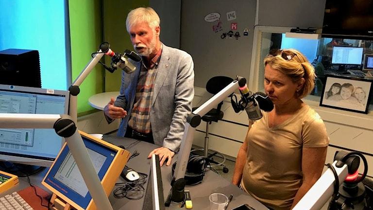 Region Gävleborg Debatt Maria Molin Moderaterna Tommy Berger Socialdemokraterna